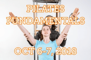 Atlas Pilates Fundamentals Seminar October 6-7, 2018