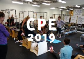 CPE 2019 - Continuing Pilates Education