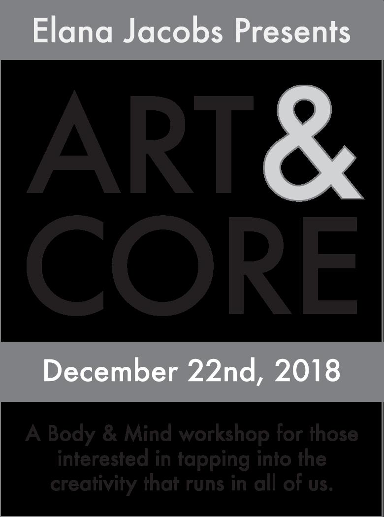 Art & Core 2018 by Elana Jacobs