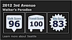 Walk Score 96 Transit Score 100